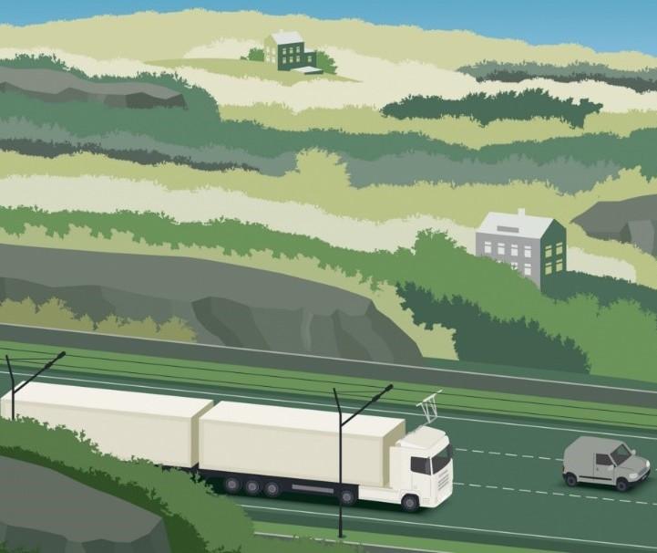 Elektrifikace dálnic – šance pro čistou nákladní dopravu