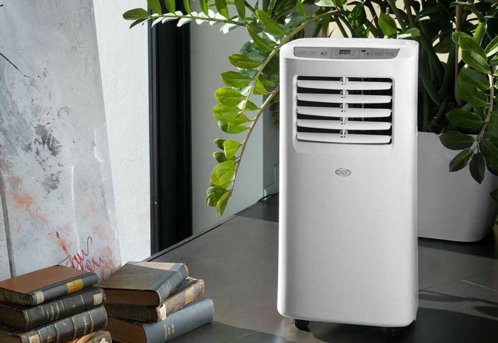 Topení klimatizací - mobilní jednotka