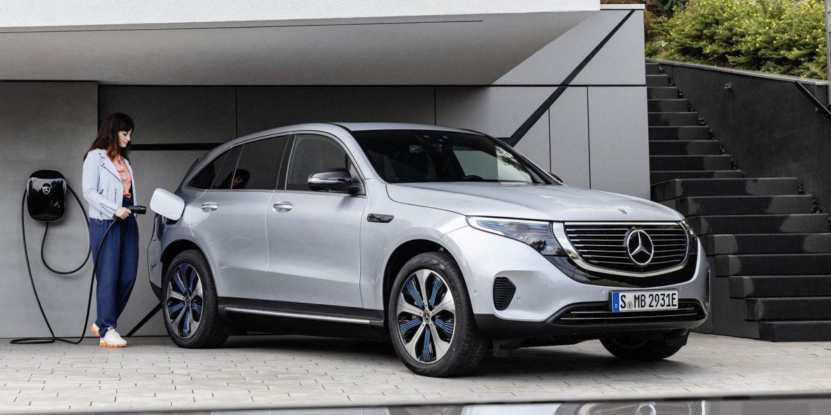 První elektromobil značky - Mercedes EQC