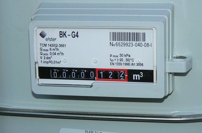 Přepočet spotřeby plynoměru z m3 na kWh